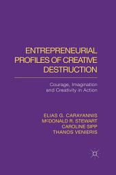Entrepreneurial Profiles of Creative Destruction: Courage, Imagination and Creativity in Action