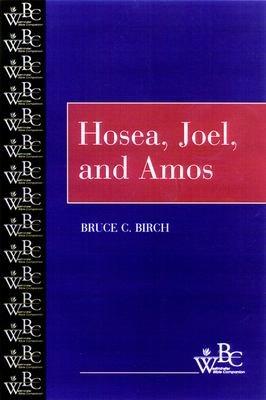 Hosea  Joel  and Amos