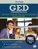 GED Preparation 2016 Book