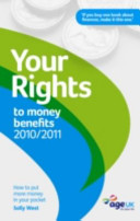 Your Rights to Money Benefits 2010 11 PDF