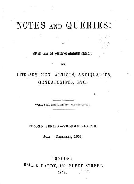 Download Notes and Queries Book