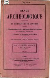 """Sur un papyrus magique du Musée Britannique. [Reprinted from the """"Revue archéologique.""""]"""