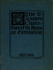 Catalogue of the Annual Architectural Exhibition, 1899-1900
