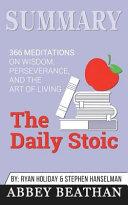 Summary: the Daily Stoic