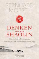 Denken wie ein Shaolin PDF