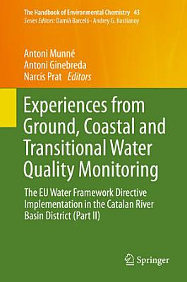 Experiences from Ground  Coastal and Transitional Water Quality Monitoring