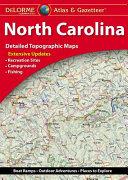 Delorme North Carolina Atlas & Gazetteer