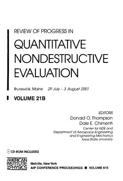 Review of Progress in Quantitative Nondestructive Evaluation PDF