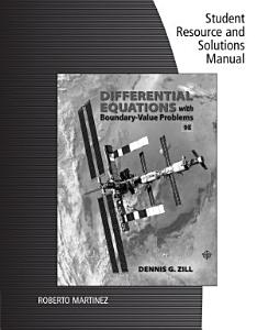 Student Solutions Manual for Zill s Differential Equations with Boundary Value Problems PDF