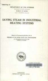Saving steam in industrial heating systems