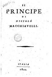 Il Principe di Niccolò Macchiavelli