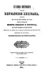 Cuadro historico de la revolucion mexicana: comenzada en 15 de septiembre de 1810 por el ciudadano Miguel Hidalgo y Costilla, Volumen 3