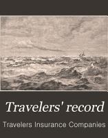Travelers  Record PDF