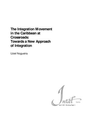 The Integration Movement in the Caribbean at Crossroads PDF