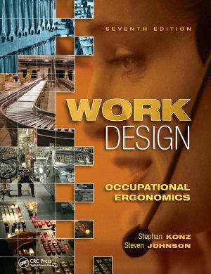 Work Design  Occupational Ergonomics