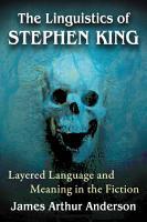 The Linguistics of Stephen King PDF