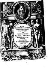 Vivae Imagines partium corporis humani aeneis formis expressae, et ex Theatro anatomico Caspari Bauhini desumptae