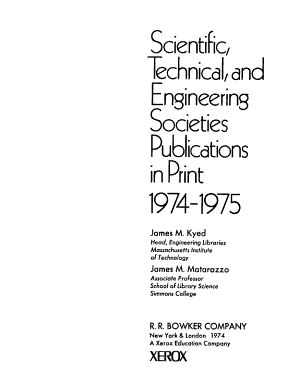 Scientific  Technical  and Engineering Societies Publications in Print PDF