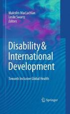 Disability   International Development PDF