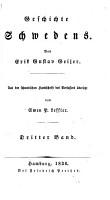 Geschichte Schwedens  von E G  Geijer  F F  Carlson  L  Stavenow  a  bers  von S P  Leffler  and others   PDF