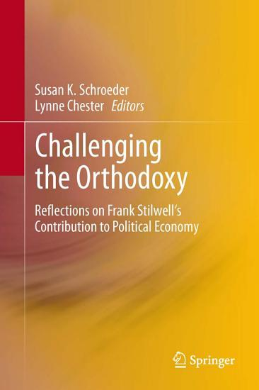 Challenging the Orthodoxy PDF