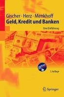 Geld  Kredit und Banken PDF