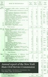 New York State Merit System: Volume 2
