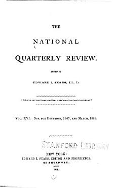 The National Quarterly Review PDF