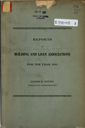 Reports of Building & Loan Associations