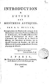 Introduction à l'étude des monumens antiques: Volume 2