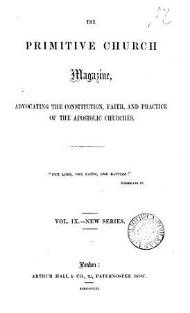 The Primitive Church Magazine PDF