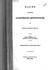Facts Concerning Anatomical Instruction in Philadelphia