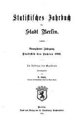 Statistisches Jahrbuch der Stadt Berlin: Band 19