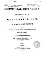 A Commercial Dictionary PDF