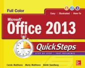 Microsoft® Office 2013 QuickSteps: Edition 3