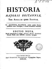 Historia Majoris Britanniae, tam Angliae quam Scotiae,