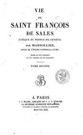 Oeuvres complètes de Saint François de Sales: Volume2