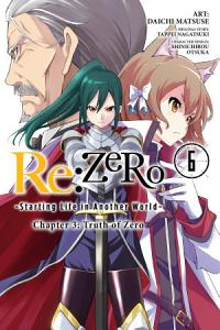 Re ZERO  Starting Life in Another World   Chapter 3  Truth of Zero  Vol  6  manga  Book