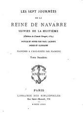 Les sept journées de la reine de Navarre: suivies de la huitième, Volume2