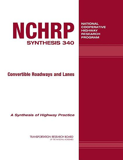 Convertible Roadways and Lanes PDF