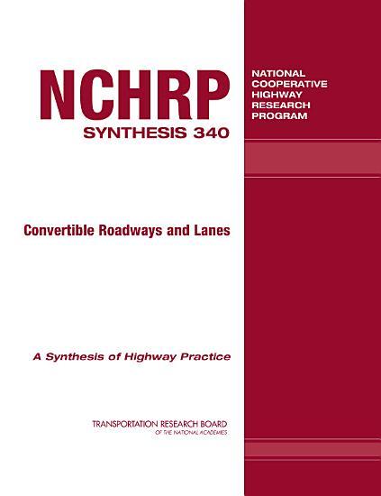 Convertible Roadways and Lanes PDF