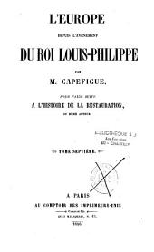 L'Europe depuis l'avènement du roi Louis-Philippe: Volume1