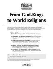 From God Kings to World Religions PDF