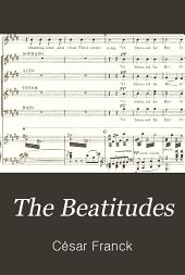 The Beatitudes: An Oratorio