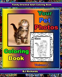 Your Pet Photos Coloring Book