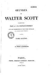 Oeuvres de Walter Scott: avec les introductions et les notes nouvelles de la dernière édition d'Edimbourg