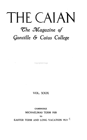 The Caian PDF