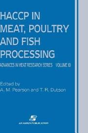 HACCP In Meat  Poultry And Fish Processing