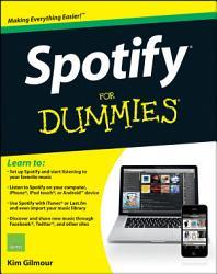 Spotify For Dummies PDF
