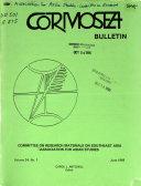 CORMOSEA Bulletin PDF